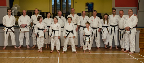 Budo-Kan-Karate-Do Black Belts